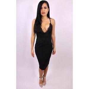 3d5c7a43a413 Dresses & Skirts - New You Be Killen Em - Black Lace Dress